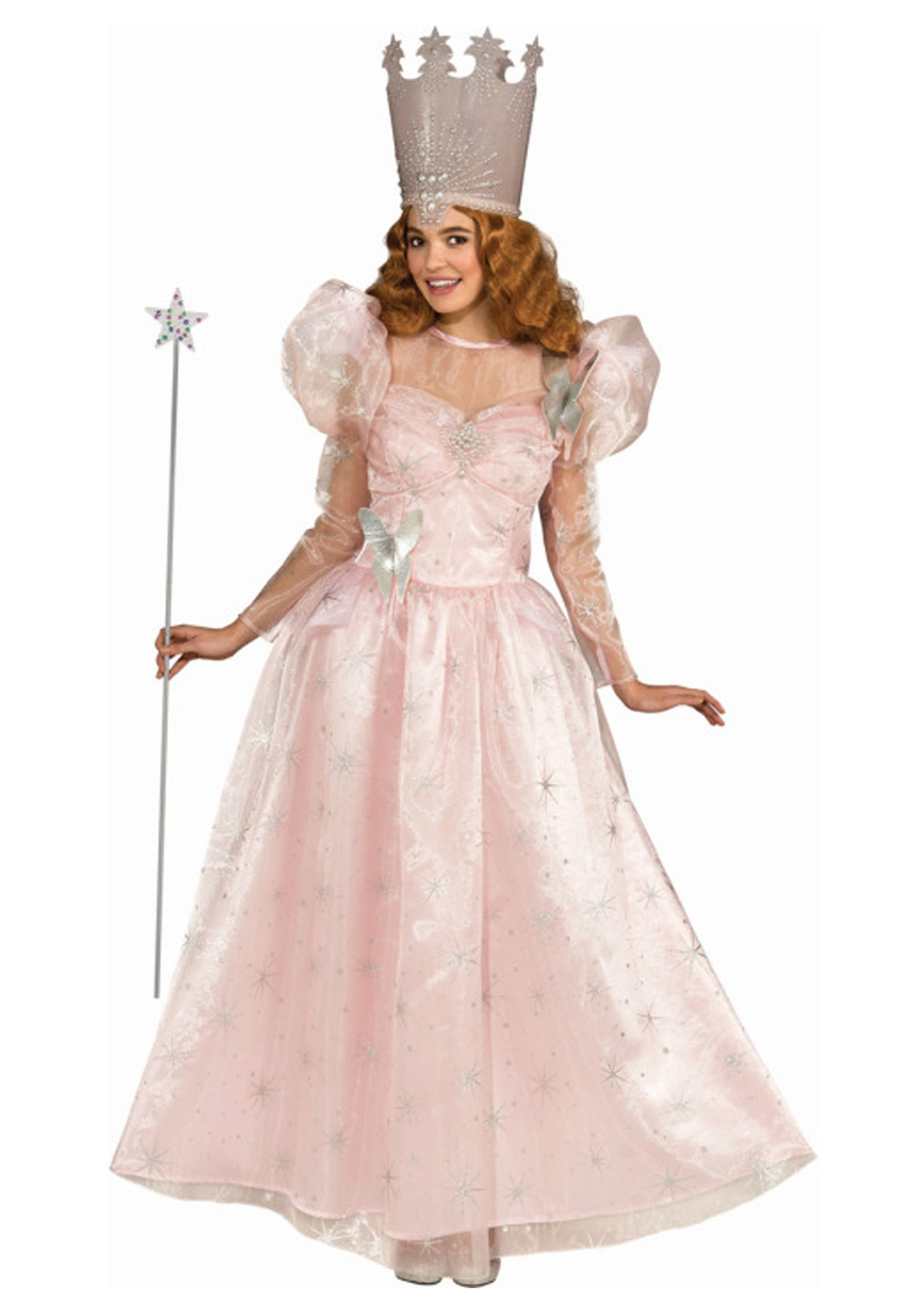 Plus Size Deluxe Gilnda the Good Witch Costume Witch