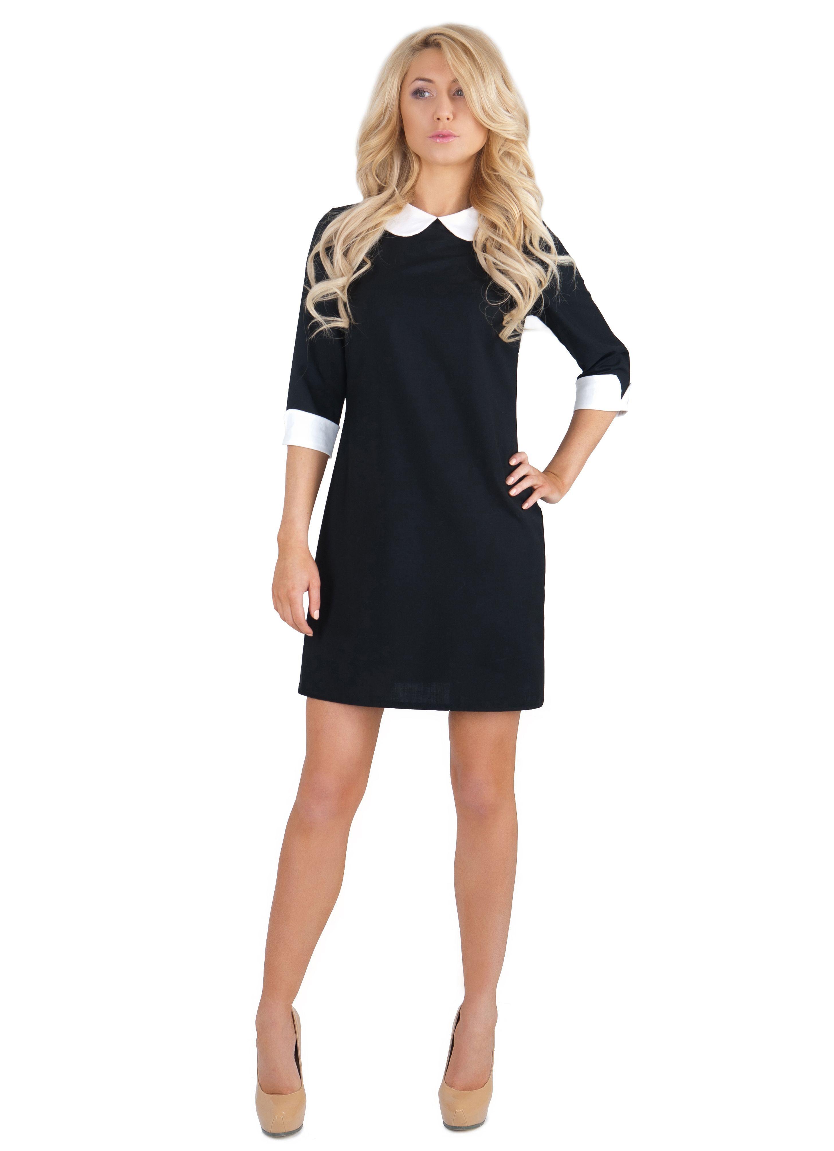e4ddce648 Прямое платье 2018 (137 фото): длинные, до колен, короткое, черное, без  рукавов, в пол, свободного кроя