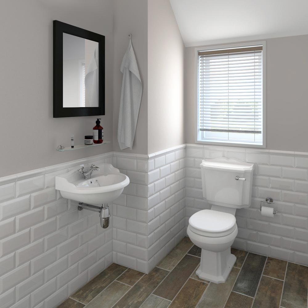 Oxford Cloakroom Suite With Basin Mixer Waste Chrome Bottle Trap At Victorian Plumbing Uk