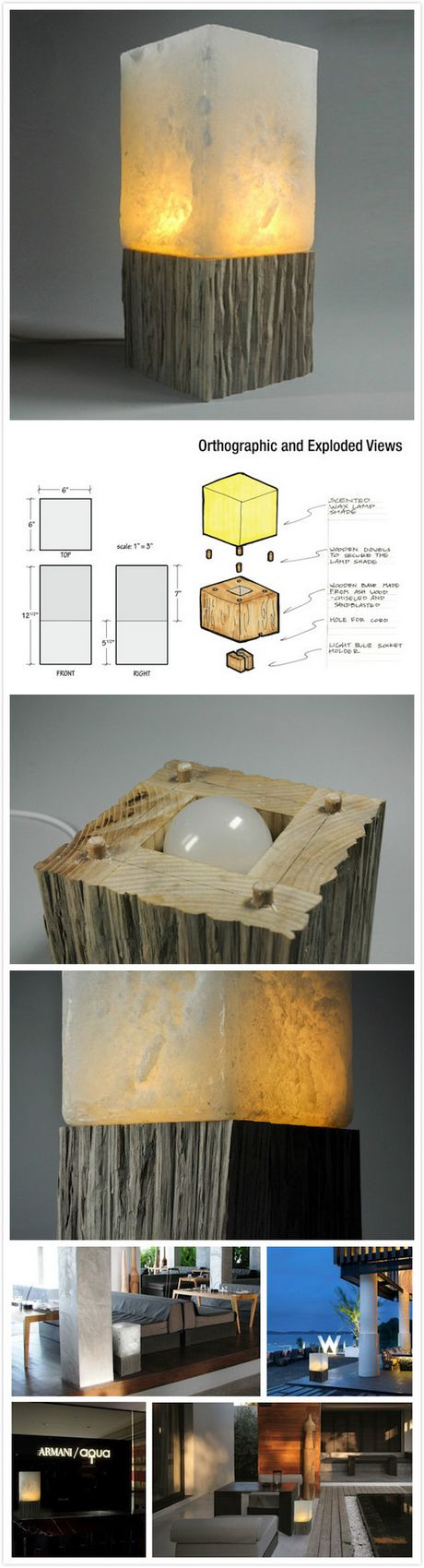 CrytaLED table lamp