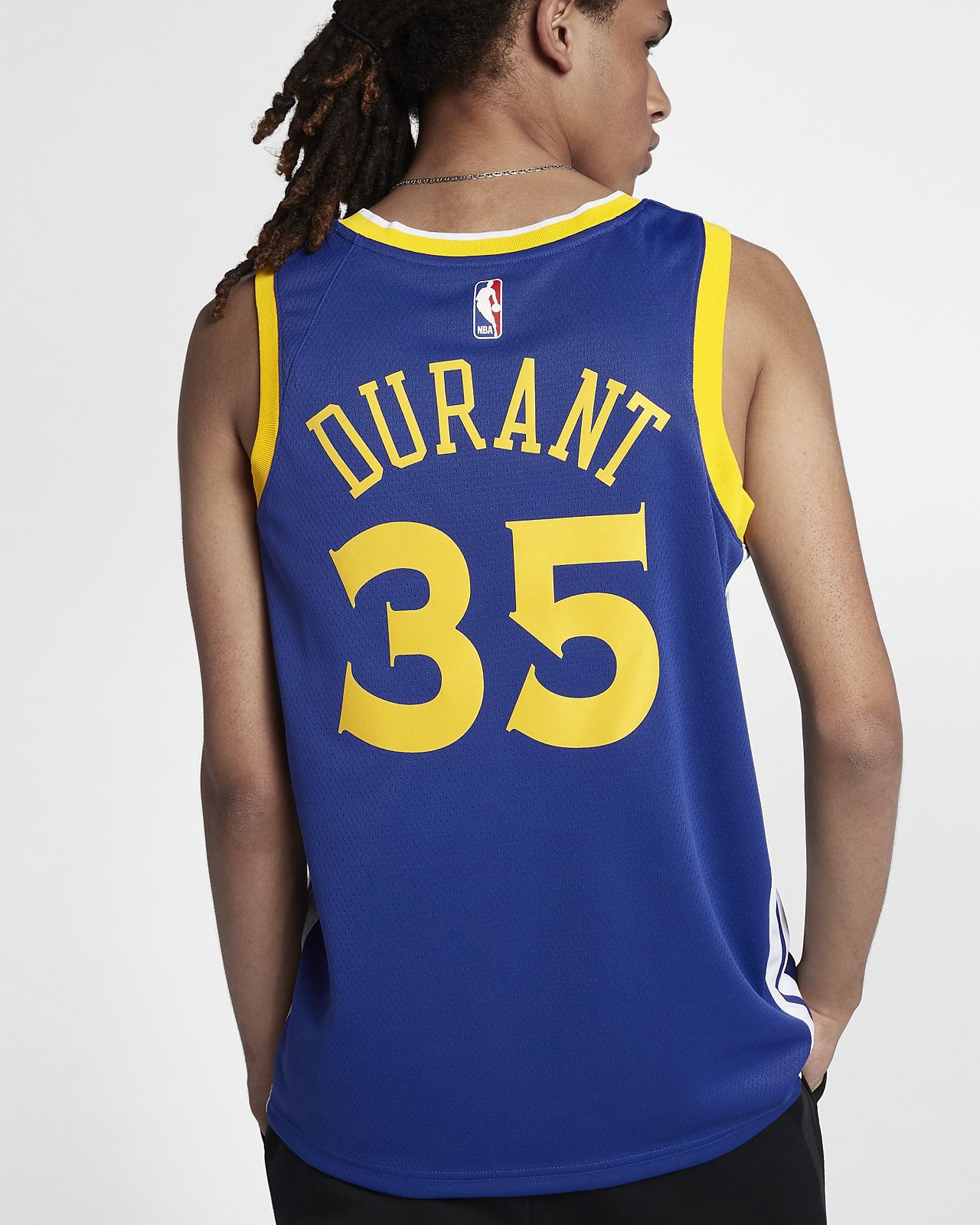 e8a3f4546d4 Nike Kevin Durant Golden State Warriors Icon Edition Swingman Jersey Men s  Nba - 2Xl (56)