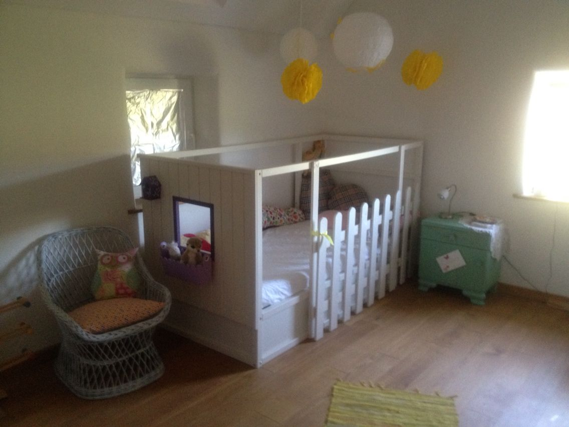 Kura bett gepimpt ikea hack love it kinderzimmer for Kinderbett ideen
