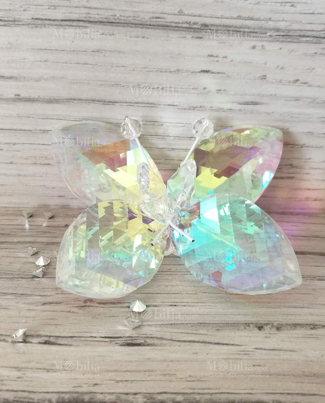 Farfalle Segnaposto Colorate Swarovski Tufano. Scopri gli Sconti fino al 60% Online su Mobilia Store.