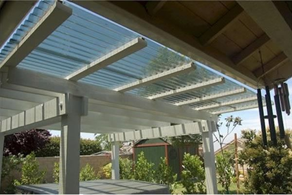 Vistalux Asbestos Profile 3 Lightweight Sheet Clear 762mm X 2135mm X 0 8mm Roofinglines Clear Roof Panels Pergola Patio Roof