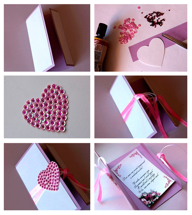 DIY Cards for Valentines Day – Handmade Valentine Day Card