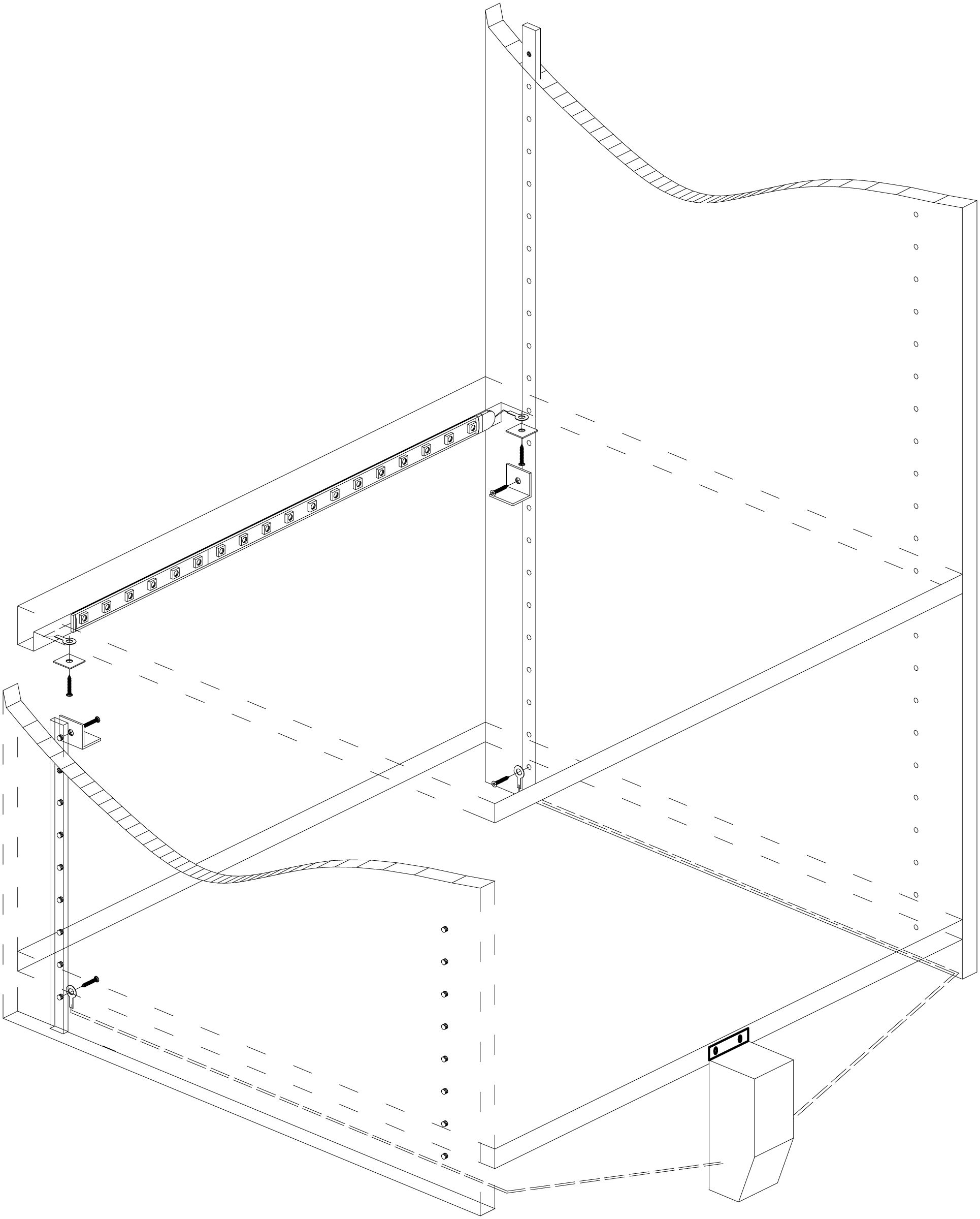 Wiring Of A Movable Shelf With Led Light Strips Positive