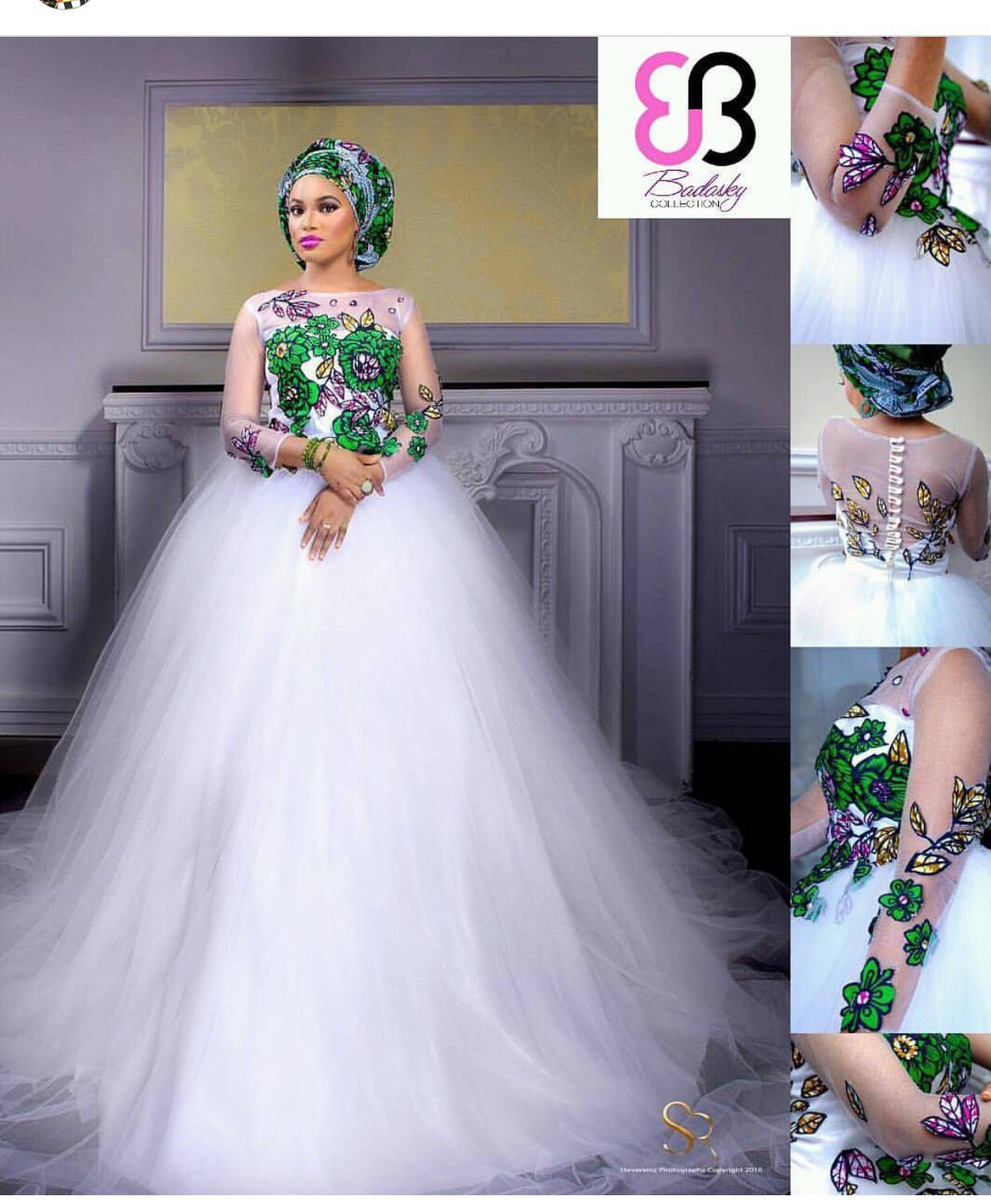 Ankara Wedding Dress Trending Africa Fashion Wedding