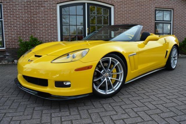 Autobedrijf André Boer Corvette C6 Grand Sport Convertible Yellow Corvette Corvette Convertible Corvette