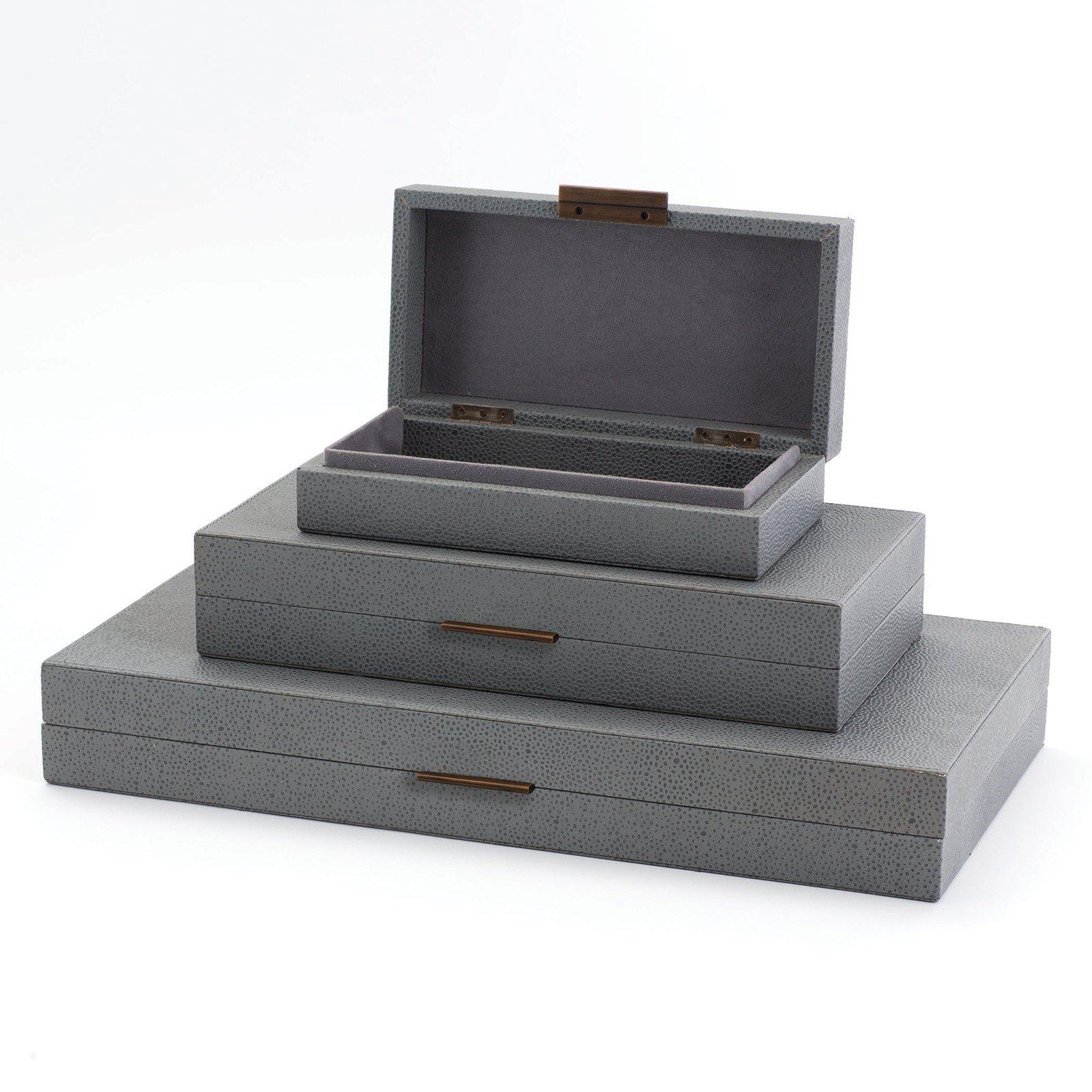 Global Views Alpen Decorative Box   Decorative boxes, Leather box ...