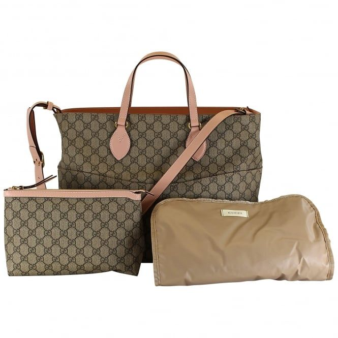 5faa4d443 Gucci baby girls changing bag. Also available in cream. #gucci #changing bag  #baby