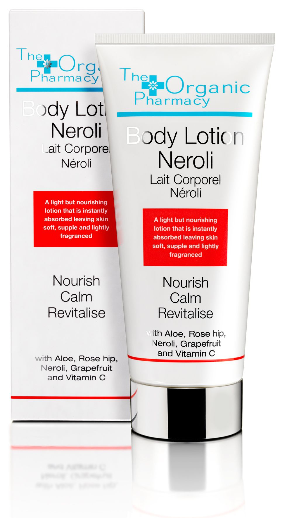 Neroli Body Lotion. The uplifting scent of Neroli revitalises and rejuvenates leaving the skin soft and fragrant.