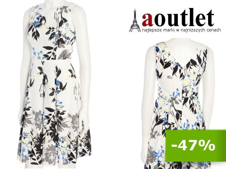 Sukienka Letnia Rozkloszowana Kwiaty 1397 44 Xxl 6162145777 Oficjalne Archiwum Allegro Fashion Dresses Formal Dresses