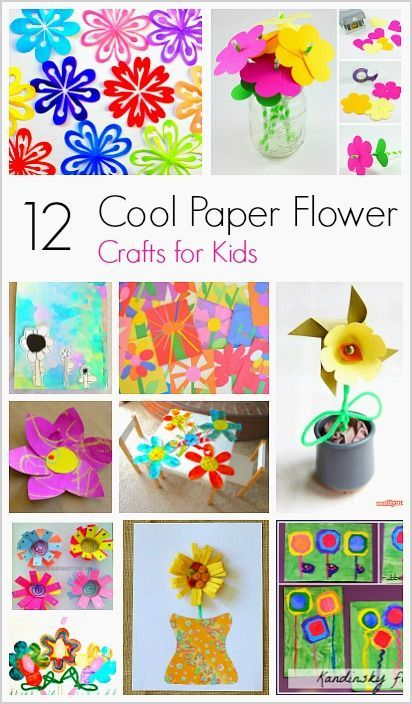 12 cool paper flower craft for kids theme flowers plants 12 cool paper flower crafts for kids perfect for spring and mothers day mightylinksfo