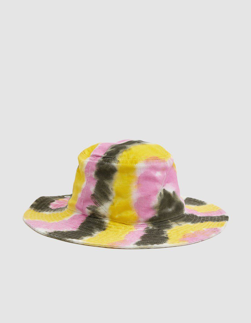 b3b3b5de GANNI / Colored Wash Denim Bucket Hat in Tie Dye in 2019 | Magic ...