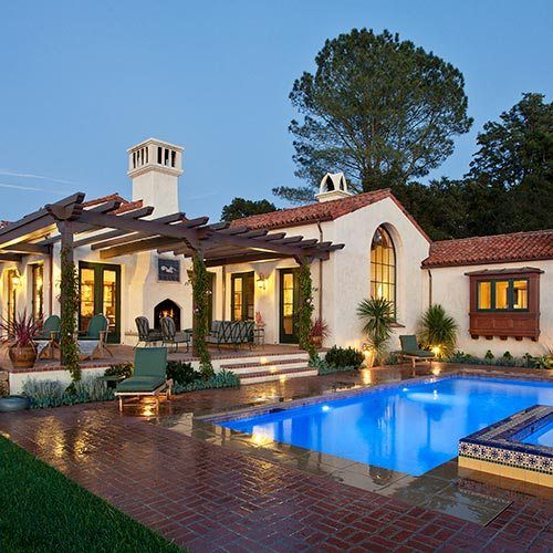 Colonial Revival Architecture New Spanish
