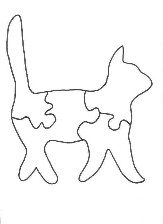 Tabby the cat puzzle puzzle pinterest holzarbeiten for Holzarbeiten vorlagen