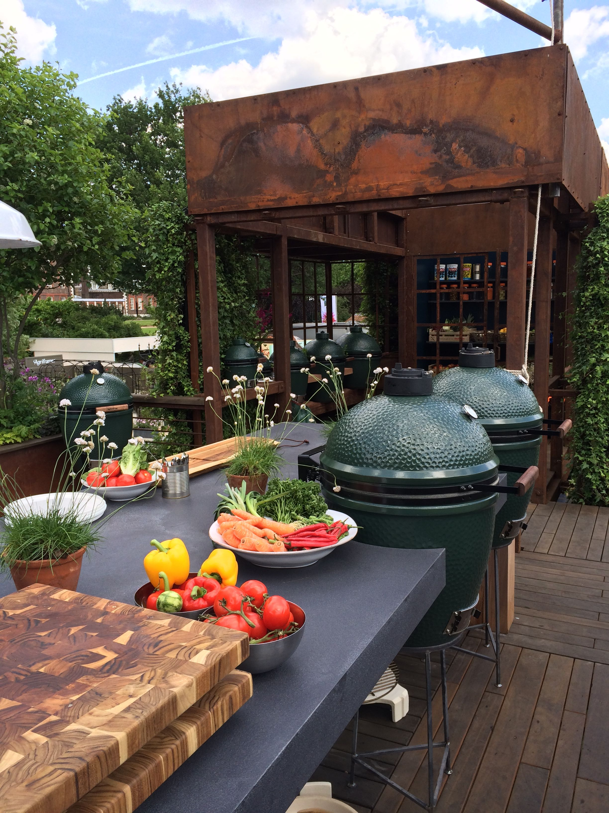 chelsea flower show 2014 outdoor kitchen big green egg table summer kitchen on outdoor kitchen id=72184