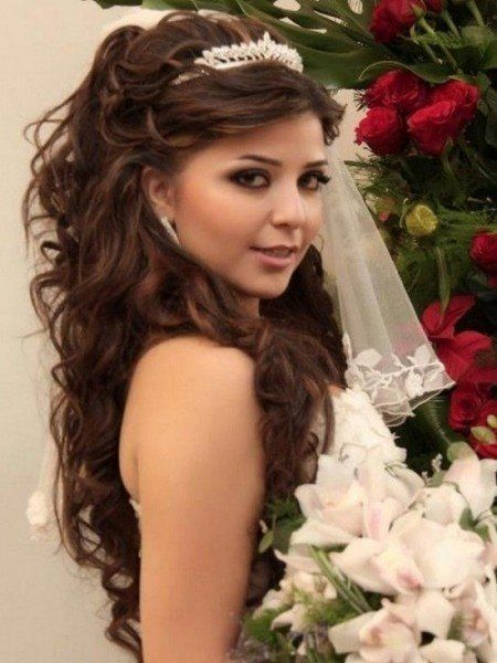 Quince Hairstyles quinceanera hairstyles with curls and tiara hair down google search Wedding Hairstyles For Long Hair Glamorous Wedding Hairstyles Quinceaera Hairstyles Long Hair