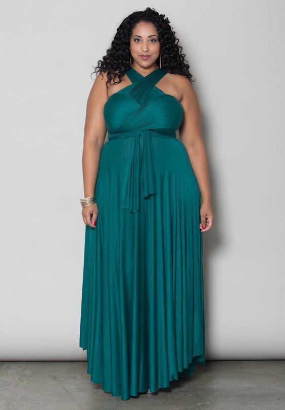 Plus Size Dress | Eternity Maxi Convertible Dress | SWAKDESIGNS ...