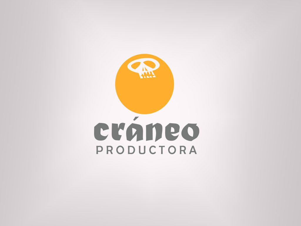 Logotipo para Craneo Productora  Elaborado 2013