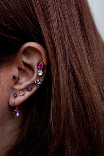 multiple ear piercings earrings | Accessories | Multiple ...