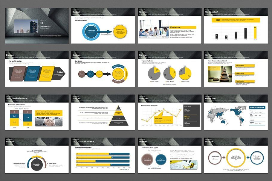 Structure in 2020 types of infographics powerpoint