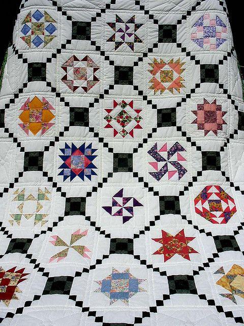 Floral shophop quilt