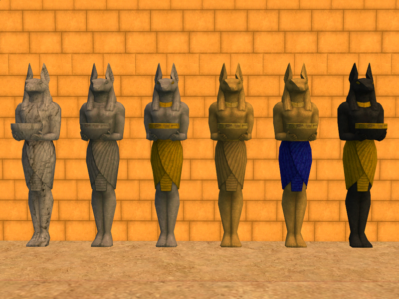 alexbgd 3t2 soul peace anubis statue recolours sims 3 worlds sims sims 2