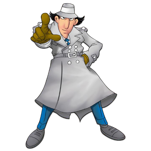 I Am A I Work For The State I Enforce All Laws Related To Fishing And Hunti Inspector Gadget Drawing Cartoon Characters Cartoons Comics