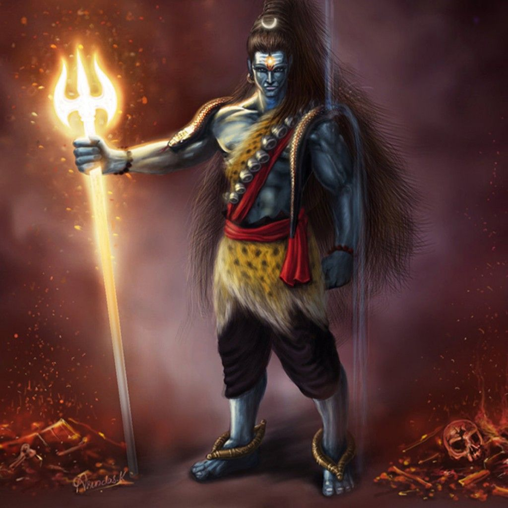 Tattoos Wallpapers Free Download: Stylish Angry Bhagvan Shiv Ji Picture Gallery For Free