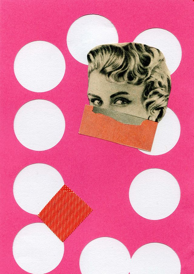 new collage – a step in time by laura redburn