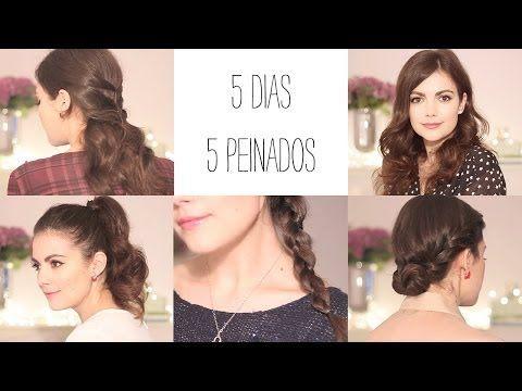 5 peinados fáciles para todos los días ii: de lunes a viernes para