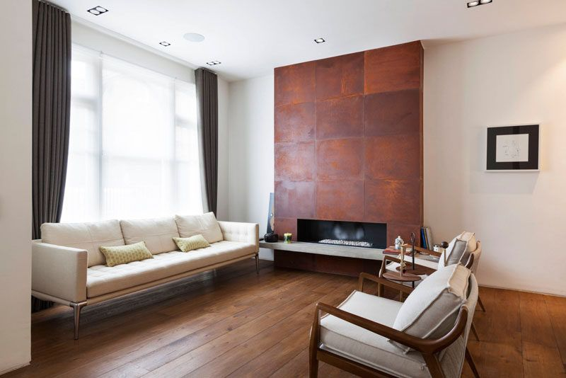 Fireplace Design Idea   6 Different Materials To Use For A Fireplace  Surround // This