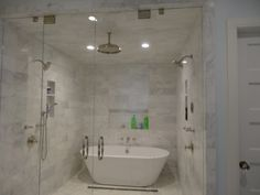 Soaking Tub Inside Shower Google Search