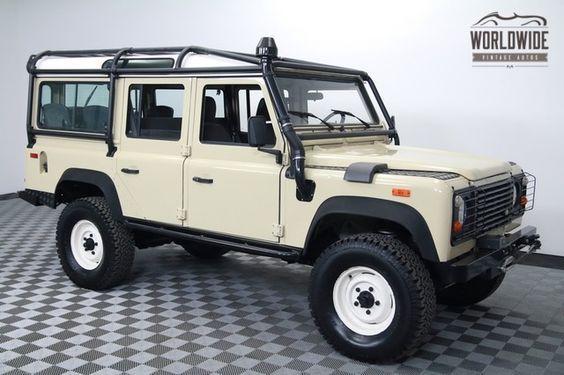 1994 Land Rover Defender 110 Worldwide Vintage Autos Land Rover Defender Land Rover Defender 110 Land Rover