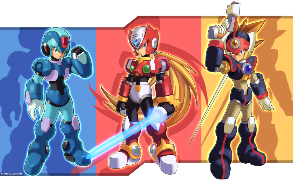 Deviantart Megaman Alia Inflation: Maverick Hunters By Ultimatemaverickx On DeviantART