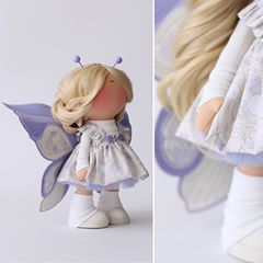 Сирень и крем-брюле ... ✔️Sold #valentexomsk_official #milahandycrafts #sewing #handmadedoll #interiordoll #textiledoll #butterfly #крыльябабочки #бабочка #кукла #интерьернаякукла #текстильнаякукла #куклабабочка #сирень #лаванда #хлопок #ткани #шьюкукол #куклавподарок #подарокручнойработы #дляинтерьера #длядочки #весна2018 #весенняяколлекция #хочулето