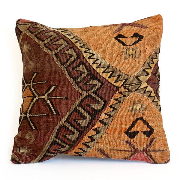 Suntan Kilim Pillow II