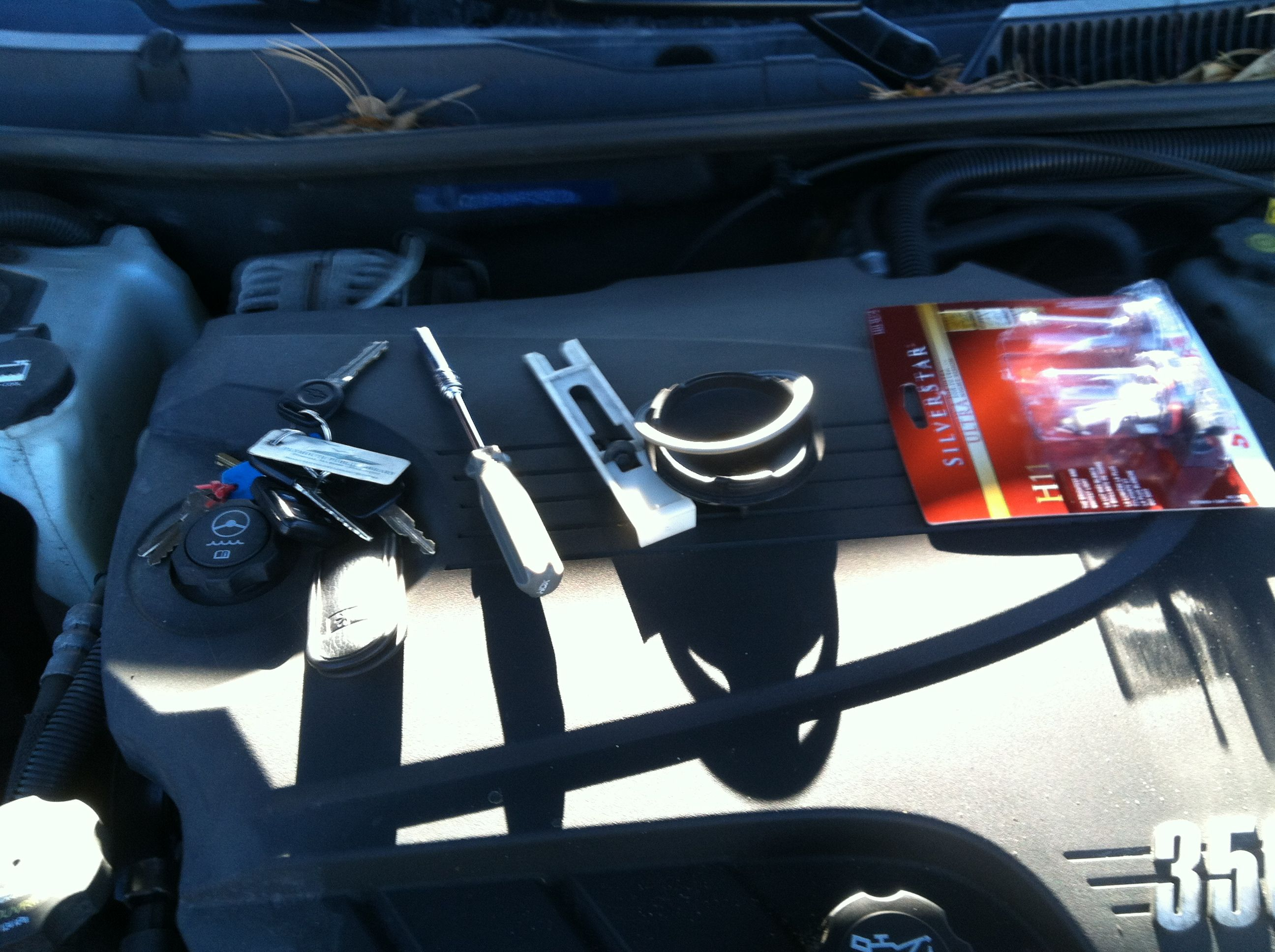 Low Beam Headlight Bulb Replacement 2009 Chevy Impala