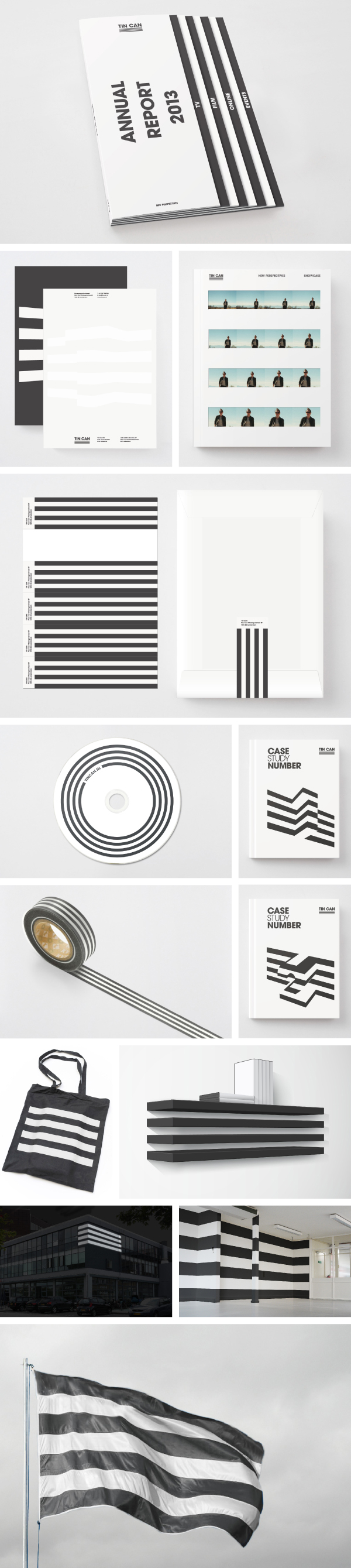 TIN CAN - visual identity