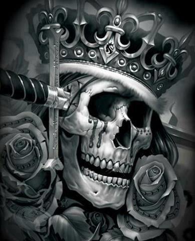 Pin By Jaerson Cervantes On Skulls Totenkopfe Skull Og Abel Art Skull Art