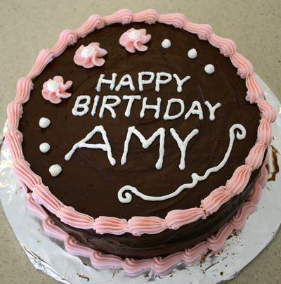 Happy Birthday Cake Amy Beelduit