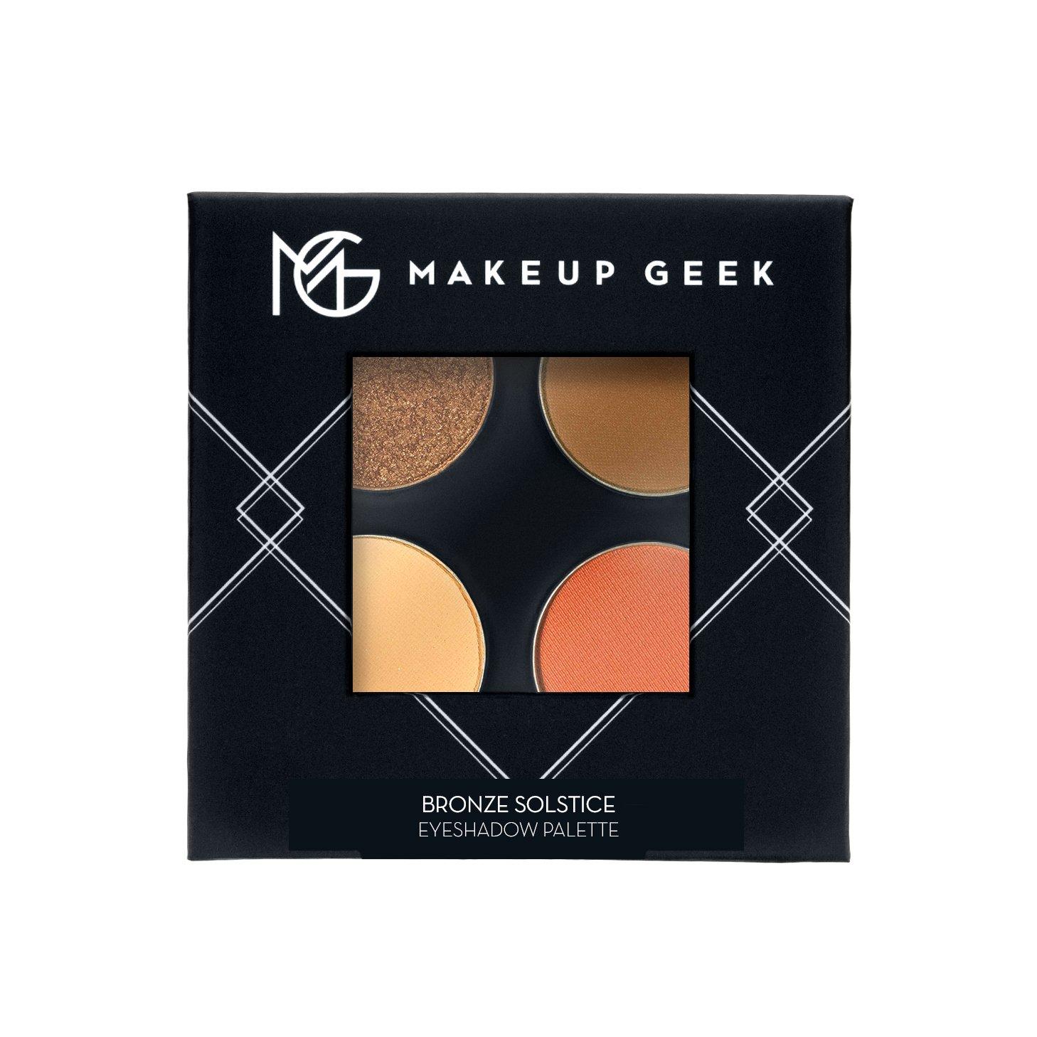 Bronze Solstice Eyeshadow Quad Makeup geek eyeshadow