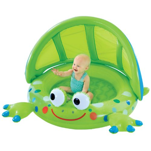 Frog Baby Shade Pool - In the backyard the beach or the park up  sc 1 st  Pinterest & Frog Baby Shade Pool - In the backyard the beach or the park up ...