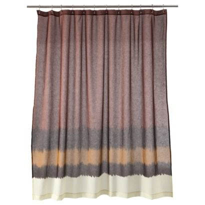 Nate Berkus Dip Dyed Shower Curtain For Window Curtains