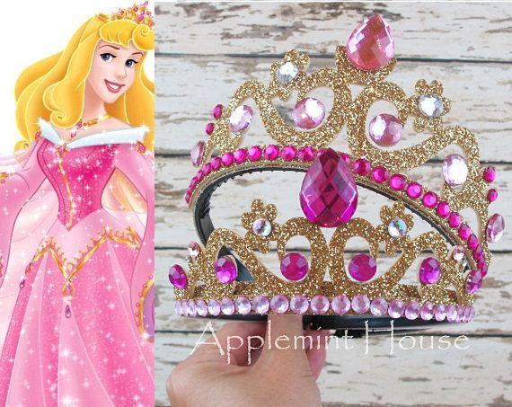 Aurora Tiara Sleeping Beauty Disney Princess Headpiece Crown Adult Child