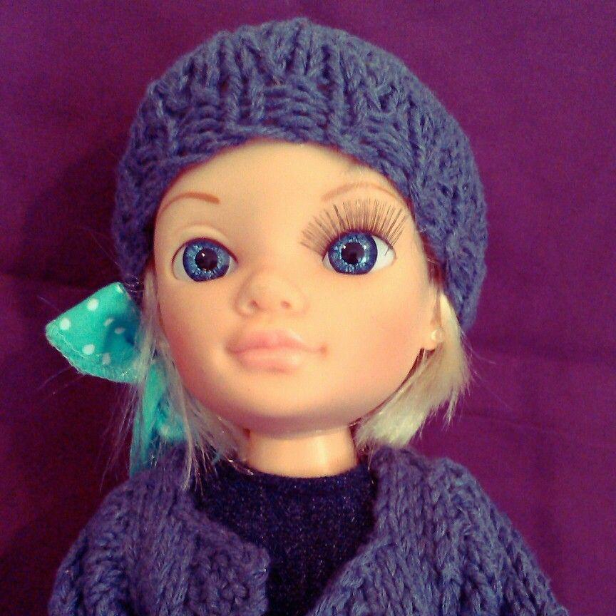 Gorrito de lana para Nancy