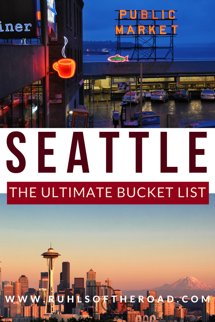 Seattle Travel Blog Pike Place Hikes Adventures More With