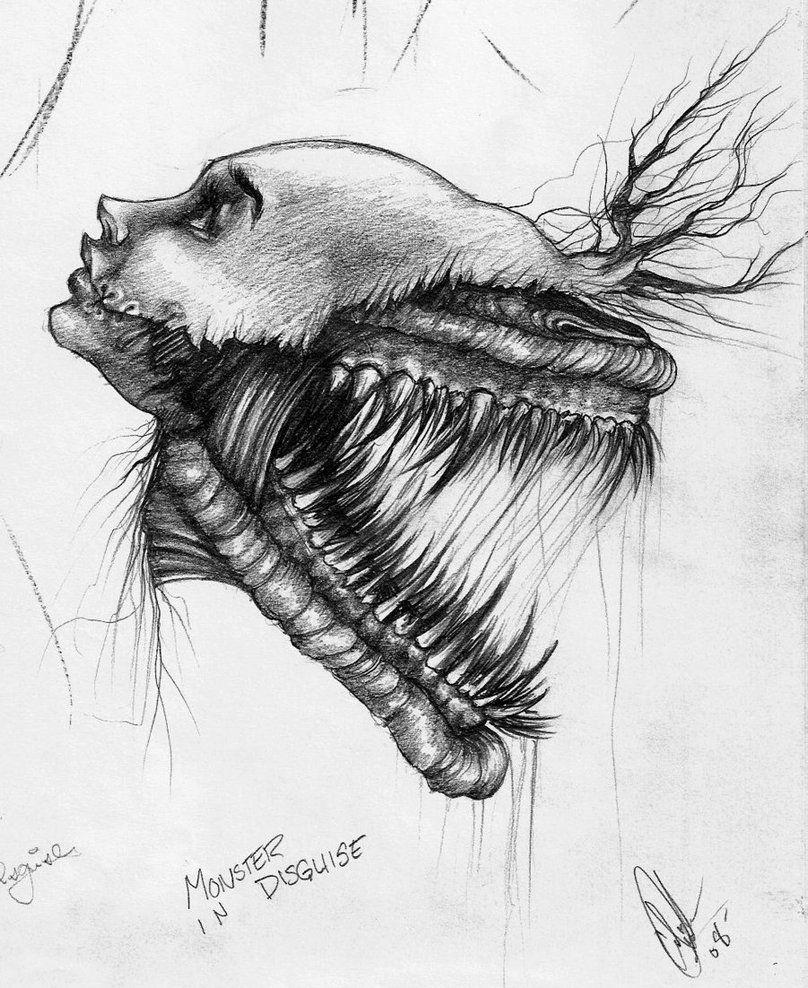 41++ Drawings monsters info