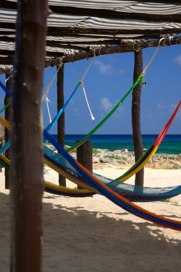 The hammock area at Punta Sur Parks... about perfect for a monday!